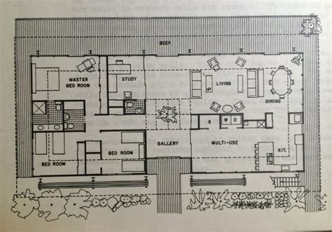 Modern Floor Plans For New Homes by Luxury Mid Century Modern Homes Floor Plans New Home