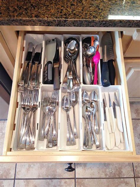 Diy Kitchen Drawer Organizer by Make Your Own Custom Drawer Organizer Diy Crafts