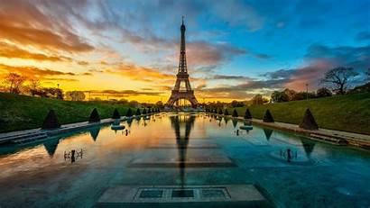 Paris Sunset Wallpapers Eiffel Cave