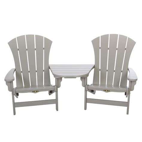 shop for a tete a tete adirondack chair table on sale
