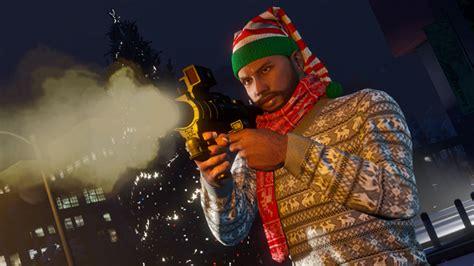 gta  festive surprise   homing launcher