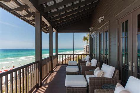gray beach cottage deck