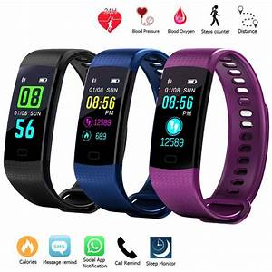 Details About Sports Waterproof Fitness Activity Tracker