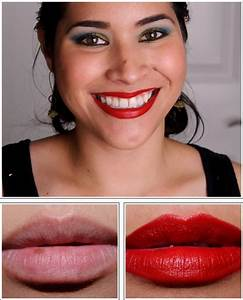 MAC Russian Red Lipglass, Lipstick, Nail Lacquer Review ...