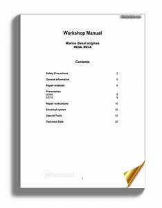 Volvo Penta Md6a Md7a Workshop Manual
