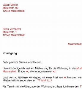 Kündigung Mietvertrag Nachmieter : vorlage k ndigung mietvertrag dokument blogs ~ Orissabook.com Haus und Dekorationen