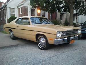 1974 Plymouth Duster Stock   Goldduster For Sale Near New