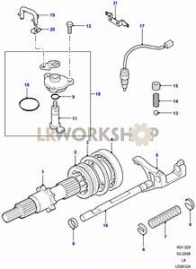 Front Output Shaft