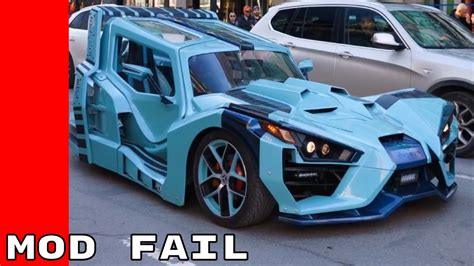 Best Modification Cars by Badly Modified Cars Of March 2017