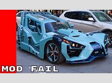 Badly Modified Cars Of March 2017 YouTube