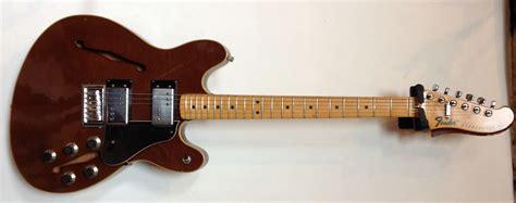 fender starcaster walnut vintage modern guitars
