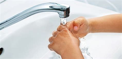 Hand Hygiene Hand Washing For Children And Babies