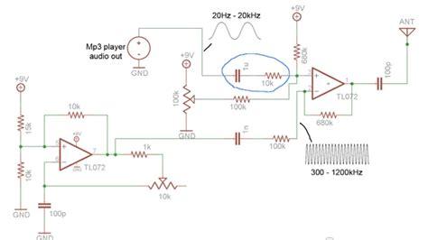 Radio Modulator Mixer Circuit Electrical