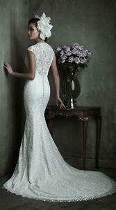79 best images about slim fit wedding dress on pinterest With slim wedding dresses