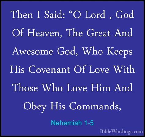 nehemiah 1 holy bible english biblewordings com