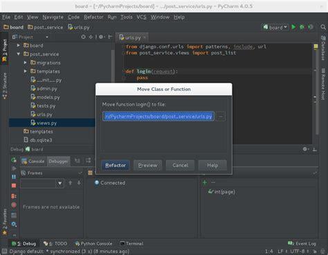 django templates ignored pycharm과 함께 django와 restframework를 활용하여 간단한 게시판 만들기 3