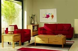 Welche Kissen Zu Rotem Sofa : roter sessel 30 faszinierende designs welche jedes ~ Michelbontemps.com Haus und Dekorationen