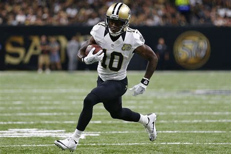 orleans saints sophomore slump  michael thomas