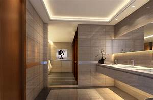 Hotel public toilet indoor lighting design   design ...