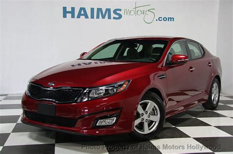 Kia Optima Mpg 2015 by 2015 Used Kia Optima 4dr Sedan Lx At Haims Motors Ft