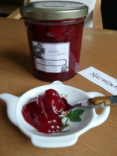 recette dessert au micro onde recette confiture de fraises au micro ondes petit dej g 226 teaux et desserts