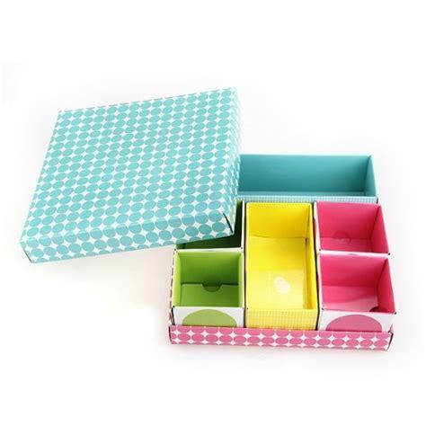 boite de rangement papier bureau boite de rangement organisateur diy en papier bureau deco