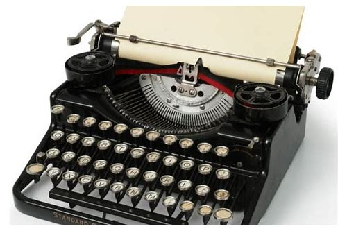 Old typewriter sound effect download :: jagoddamo