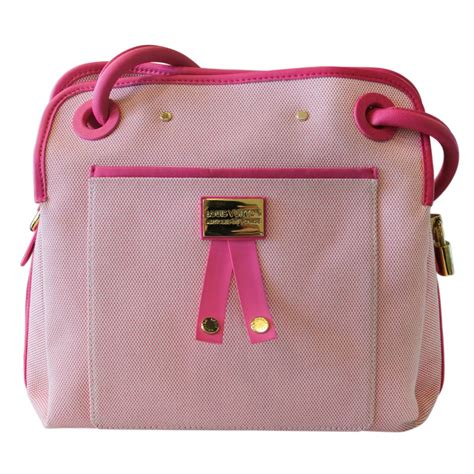 louis vuitton articles de voyage pink rider bag  stdibs