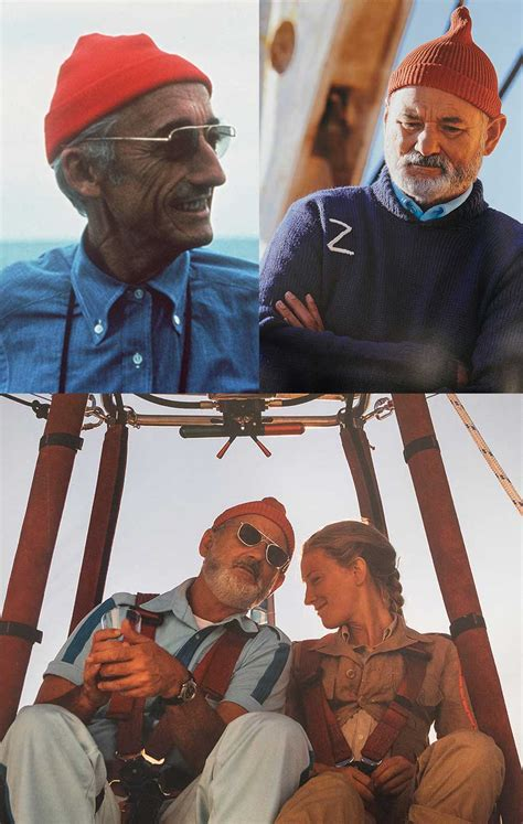 life aquatic  steve zissou menswear   movies