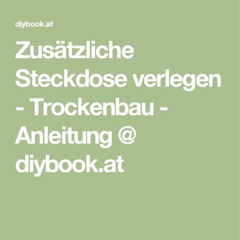 Sanitaerinstallation Selbst Anbringen Ueberblick Und Kurzanleitungen by Zus 228 Tzliche Steckdose Verlegen Trockenbau Heimwerken