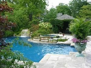 Pools Für Den Garten : 160 tolle bilder von luxus pool im garten ~ Watch28wear.com Haus und Dekorationen