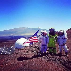 Insta-Mars: Crew Wraps Up Mock Mission With Pictures Of ...