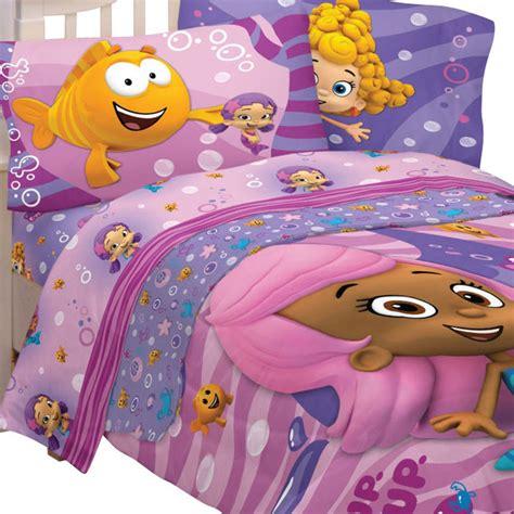 bubble guppies fun pc twin single bedding set