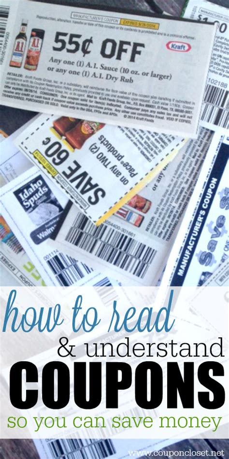 Closet Discount Code by How To Read Coupons And Understand Them Coupon Closet