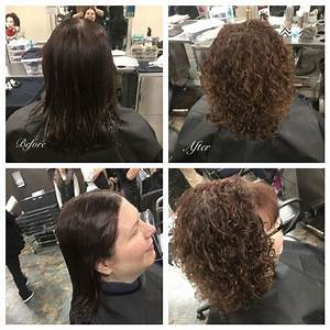 Basic Straight Back Perm Wrap Using Grey Rods  Used Quantum Extra Body Perm Solution  Before
