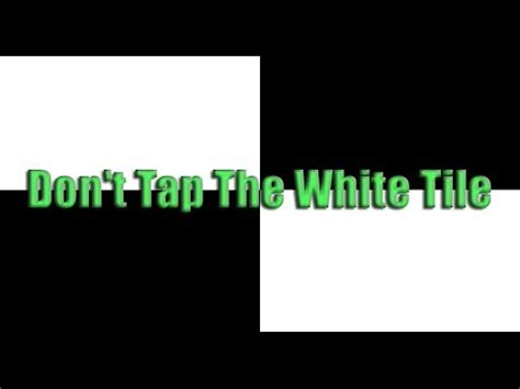 dont tap the white tile 2 don t tap the white tile iphone ipod touch