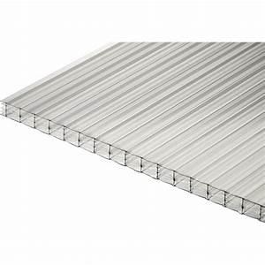 Plaque Polycarbonate Alvéolaire 4mm : plaque polycarbonate alv olaire 16mm clair 4 x ~ Dailycaller-alerts.com Idées de Décoration