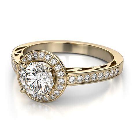 simple engagement rings for