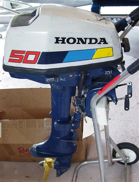 Honda Small Boat Motor by 5 Hp Honda Bf 50 Outboard Boat Motor For Sale 4 Cycle