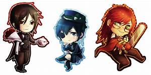 Grell And Sebastian Chibi images