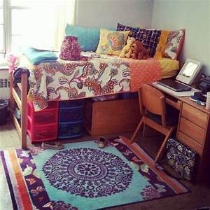 Appealing bohemian style room installed at small size of