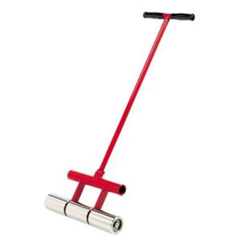 home depot flooring roller roberts 35 lb vinyl linoleum and carpet floor roller 10 935 the home depot