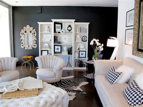 Black Living Room Ideas Mixing Is The Key  Design And