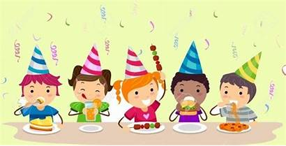 Party Parties Birthday Childrens Illustration Kid Play
