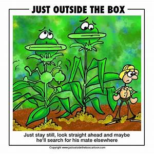 Carnivorous plants - Just Outside the Box Cartoon
