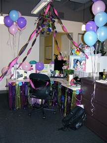 OFFICE CUBICLE birthday surprise