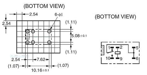 5v relay g5v 1 5vdc signal relay 6 pins for omron relay ebay