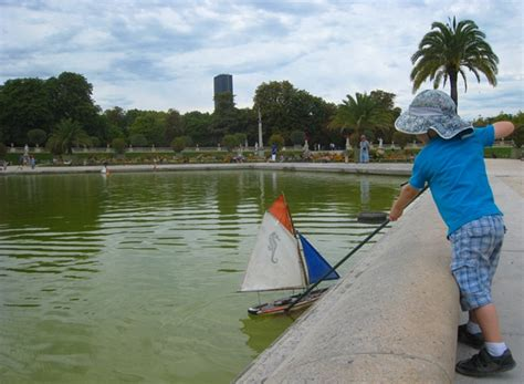 Sailboats Jardin Du Luxembourg by With Jardin Du Luxembourg Travelsort
