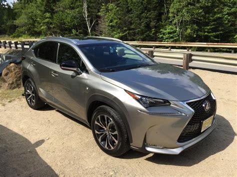 lexus nx   sport review  test drive ny