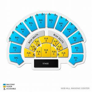 Nob Hill Masonic Center Tickets Nob Hill Masonic Center